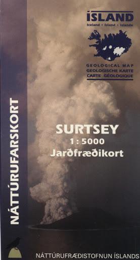 Jarðfræðikort - Surtsey 1:5000