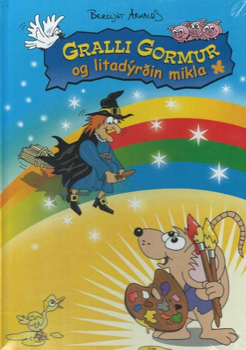 Gralli gormur og litadýrðin mikla