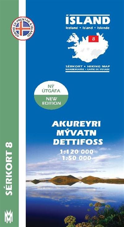 Sérkort 8: Akureyri – Mývatn – Dettifoss