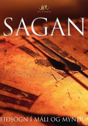 Sagan: leiðsögn í máli og myndum