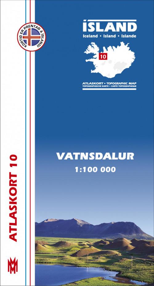 Atlaskort 10 - Vatnsdalur