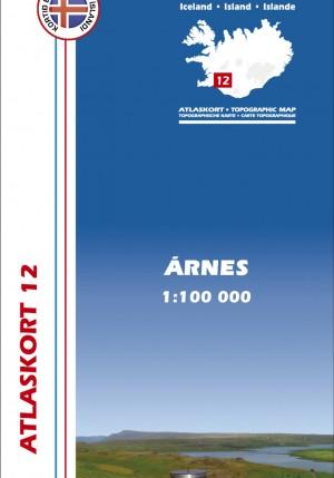 Atlaskort 12 - Árnes