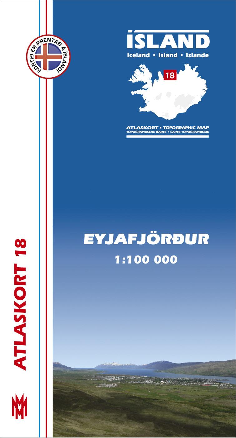 Atlaskort: Eyjafjörður