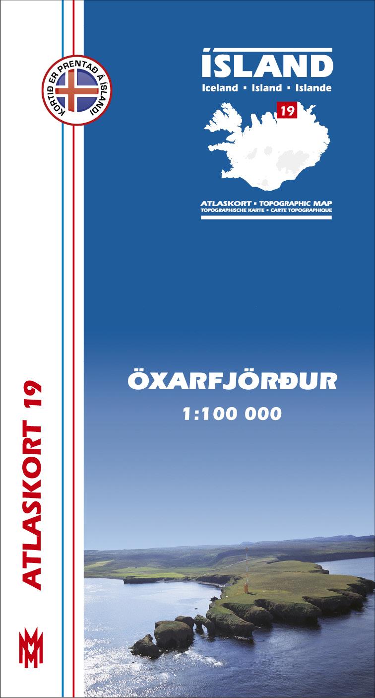 Atlaskort: Öxarfjörður