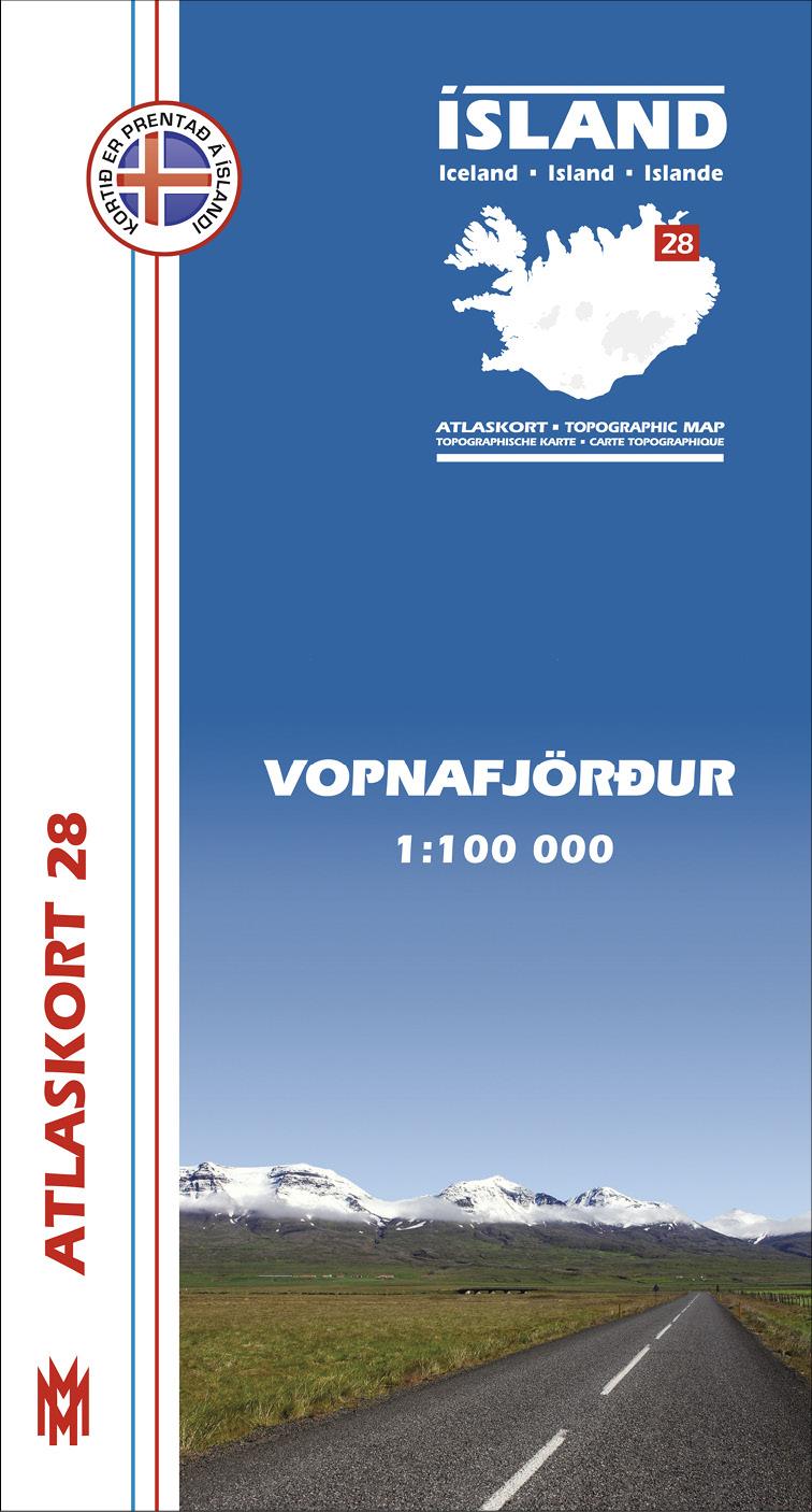 Atlaskort: Vopnafjörður