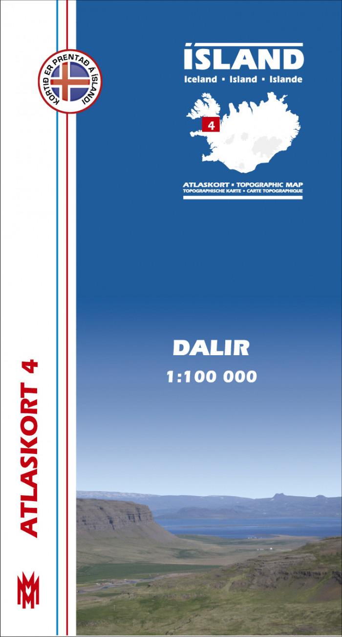 Atlaskort 4 - Dalir