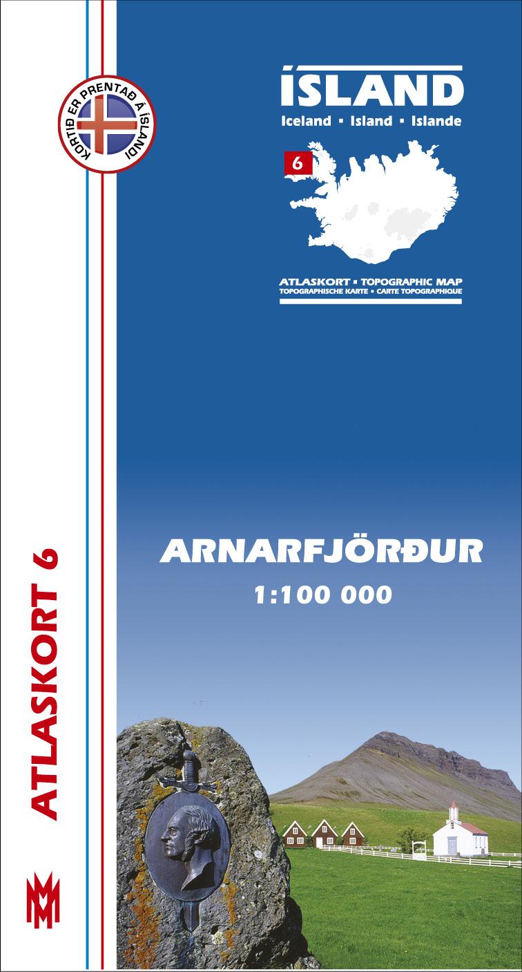 Atlaskort 6 - Arnarfjörður
