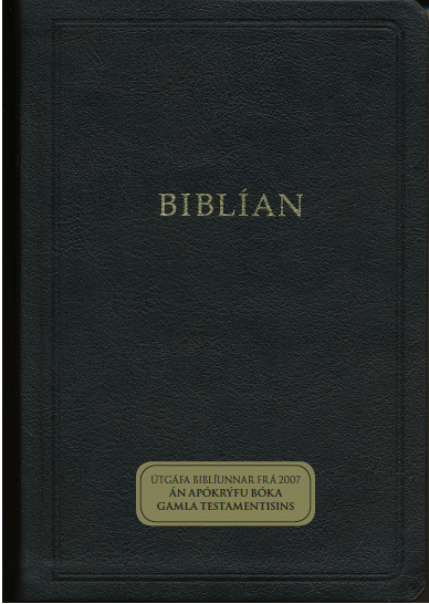 Biblían án Apókrýfu bóka