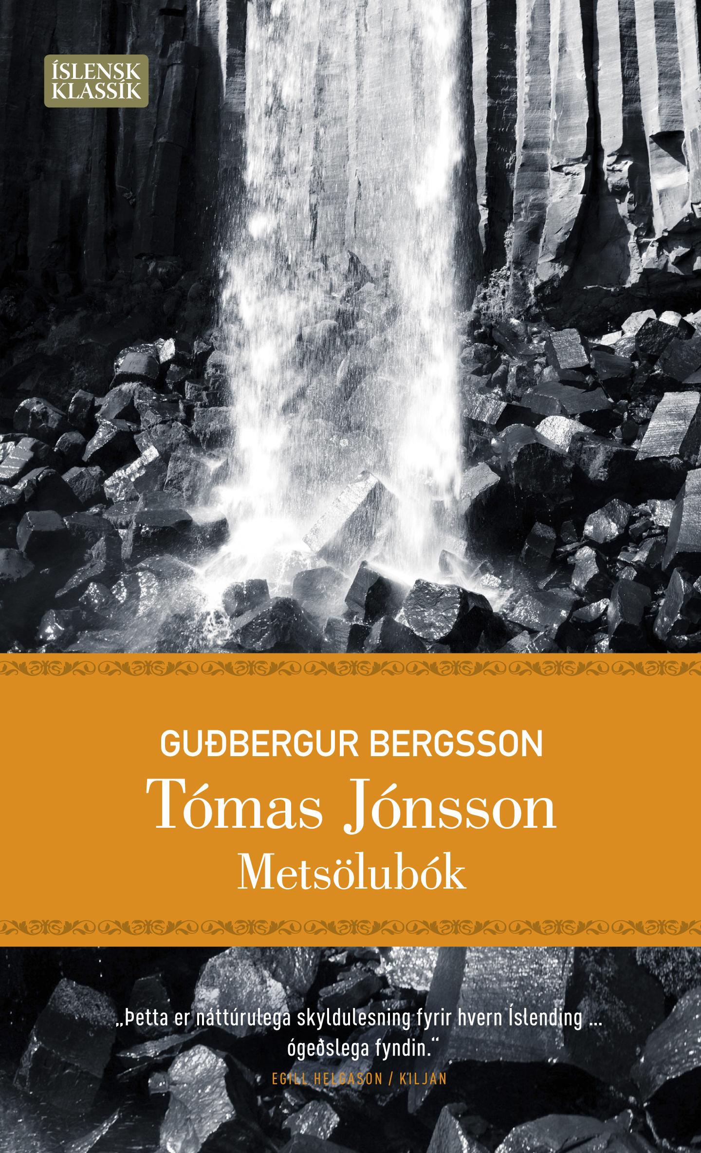 Tómas Jónsson- Metsölubók