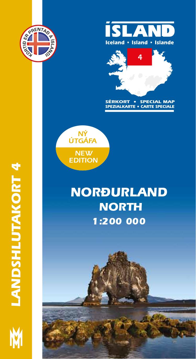 Landshlutakort 4 – Norðurland