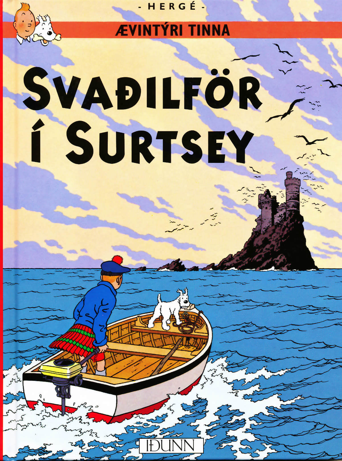 Tinni: Svaðilför í Surtsey