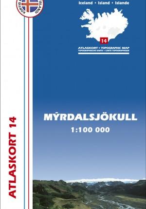 Atlaskort 14 - Mýrdalsjökull