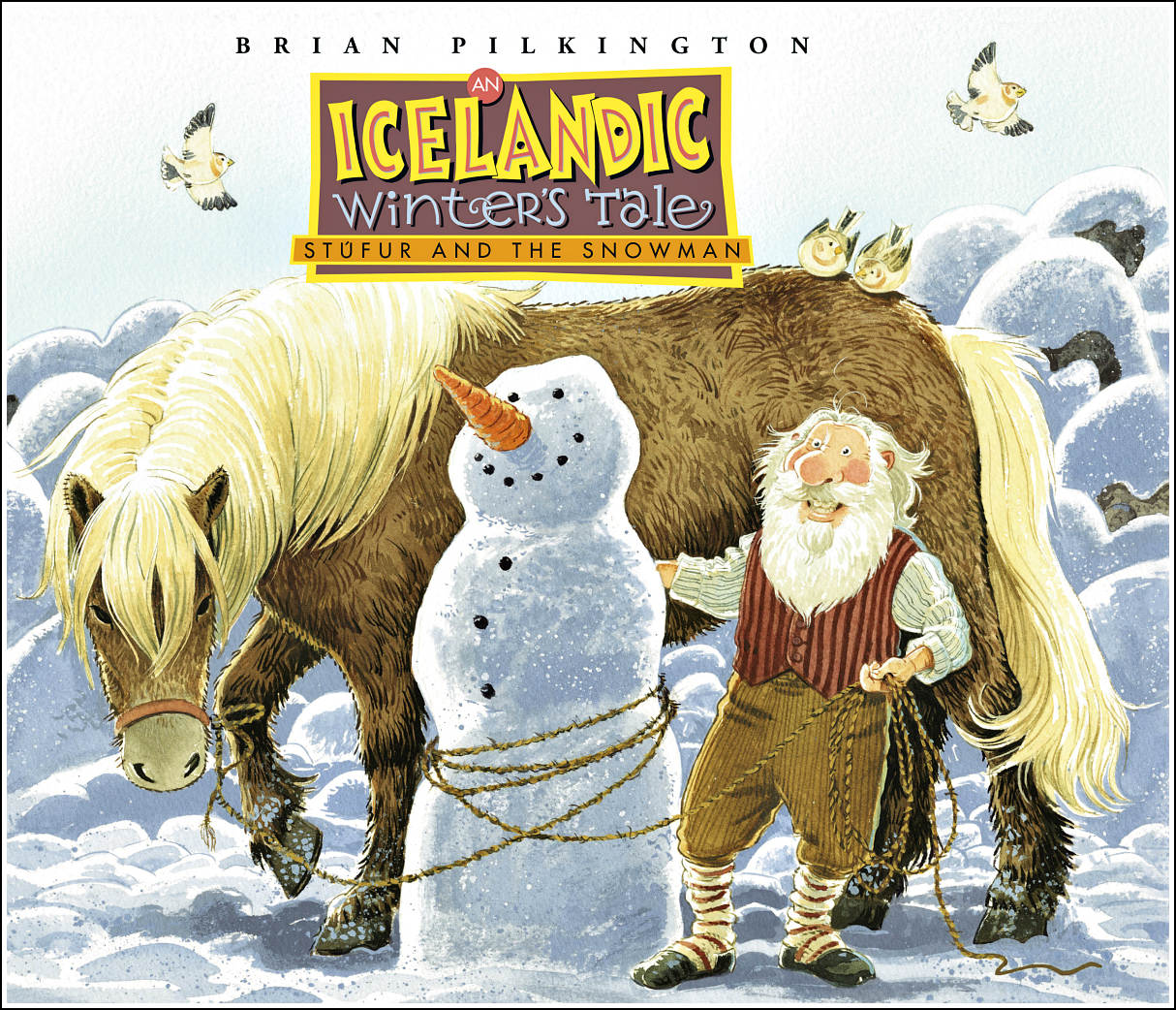 An Icelandic Winter's Tale: Stúfur and the Snowman