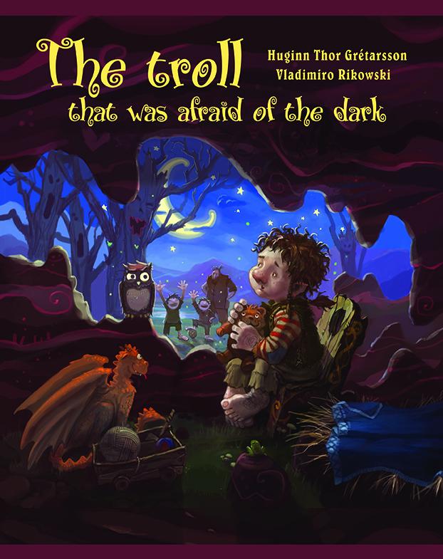 The troll that was afraid of the dark