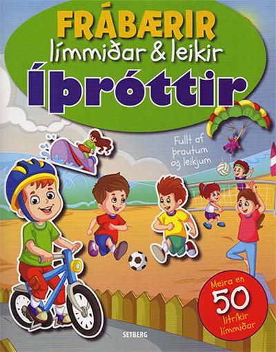 Frábærir límmiðar & leikir - Íþróttir