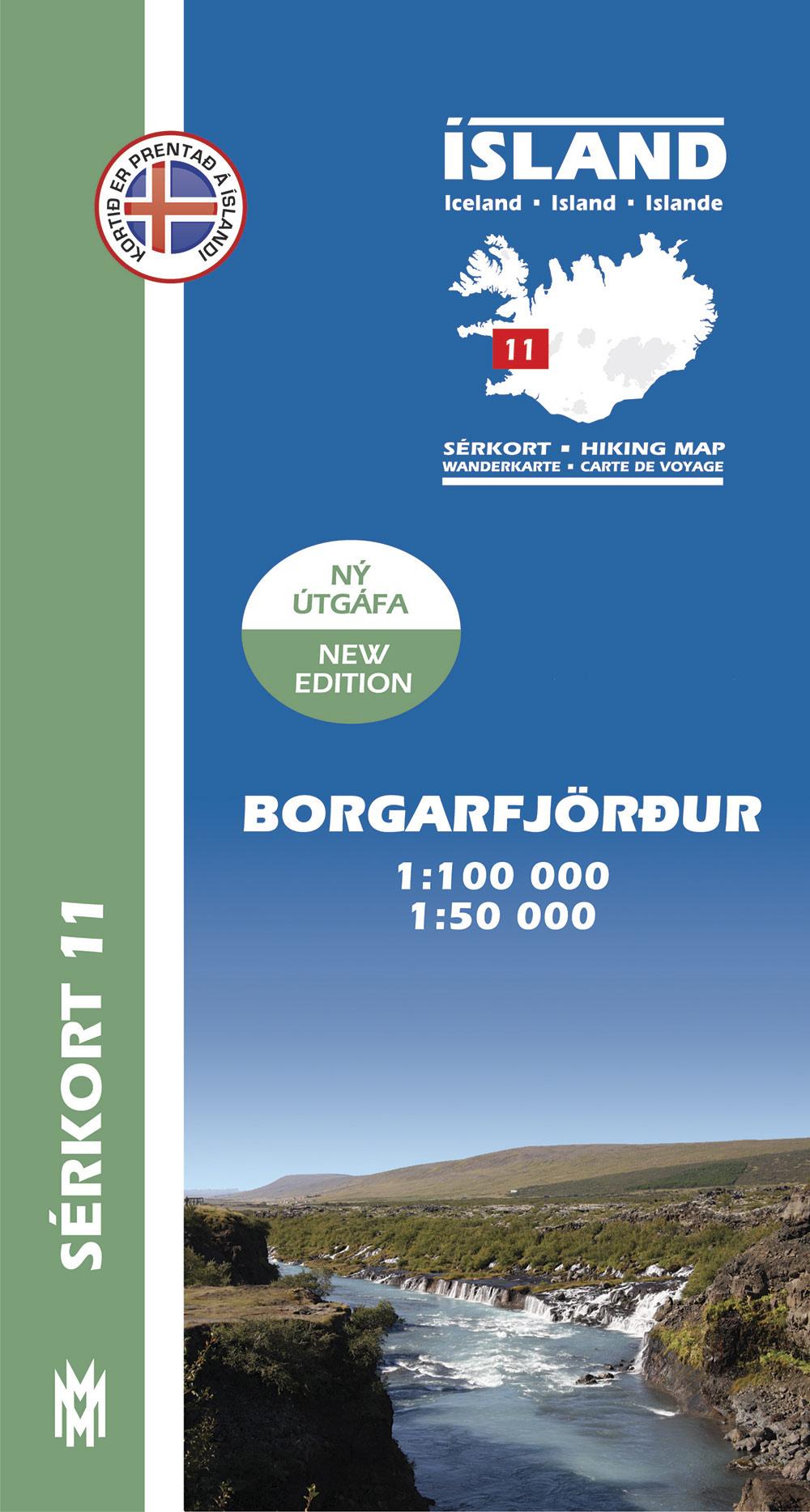 Sérkort 11: Borgarfjörður