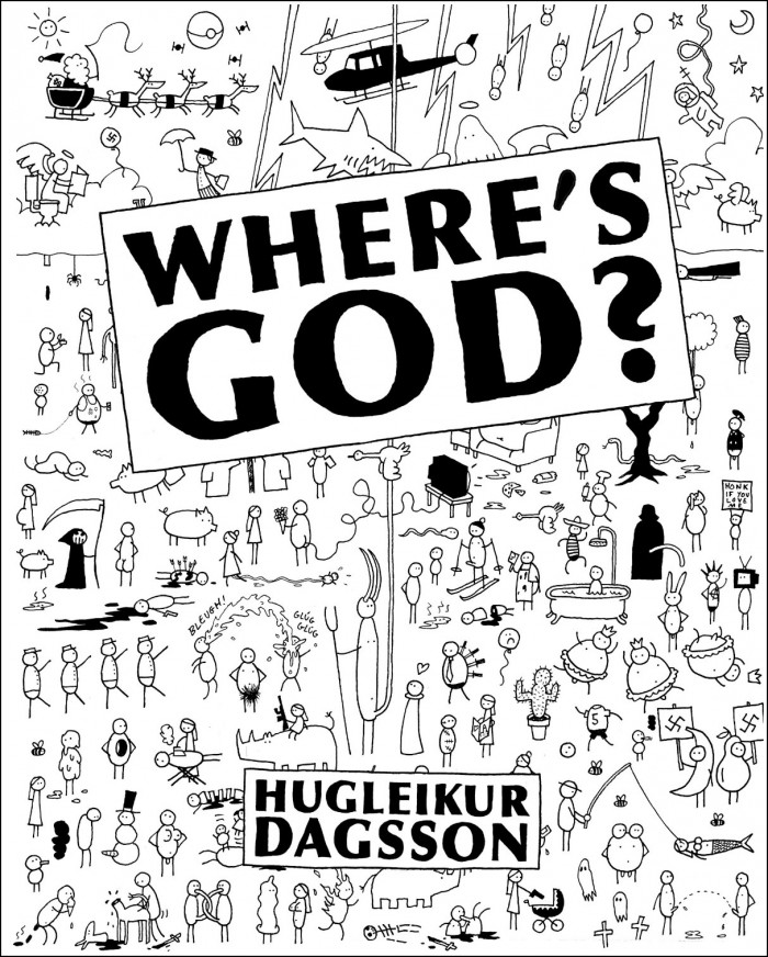 Where is God by Hugleikur Dagsson
