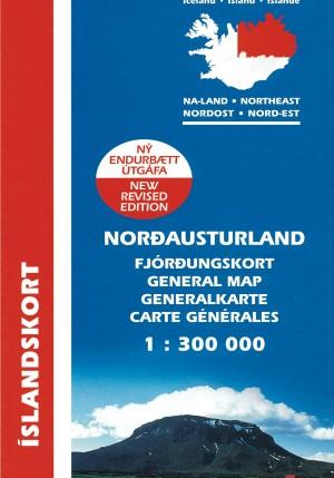 Norð-Austurland 1:300 000: Fjórðungskort