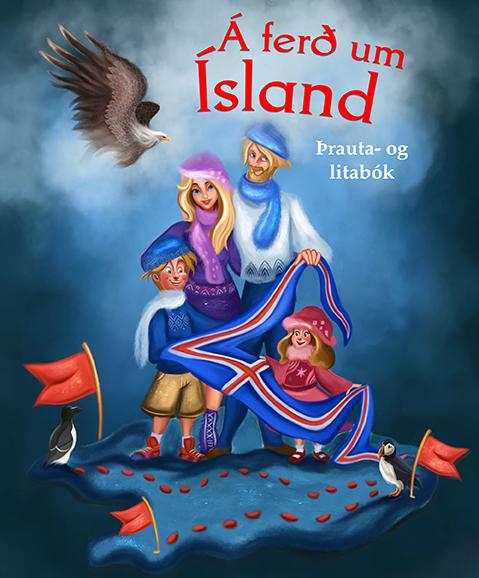Á ferð um Ísland
