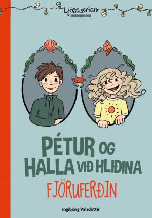 Pétur og Halla við hliðina Fjöruferðin