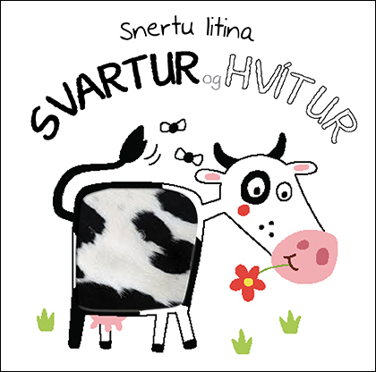 Snertu litina: Svartur og hvítur