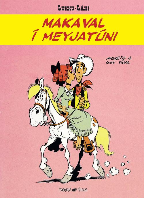 Lukku Láki - Makaval í Meyjatúni
