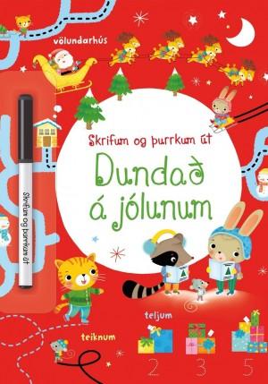 Dundað á jólunum - skrifum og þurrkum út