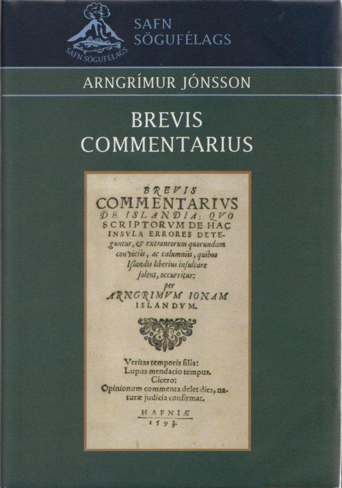 Brevis commentarius de Island