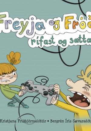 Freyja og Fróði rífast og sættast