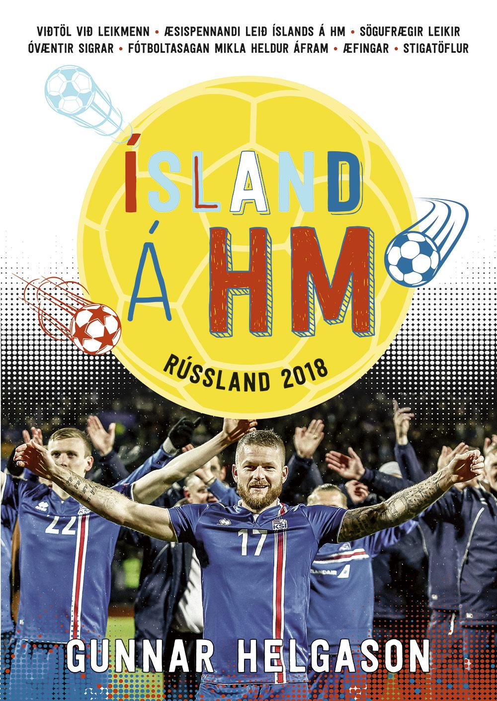 Ísland á HM – Rússland 2018