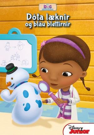 Dóta læknir og bláu blettirnir - með geisladiski