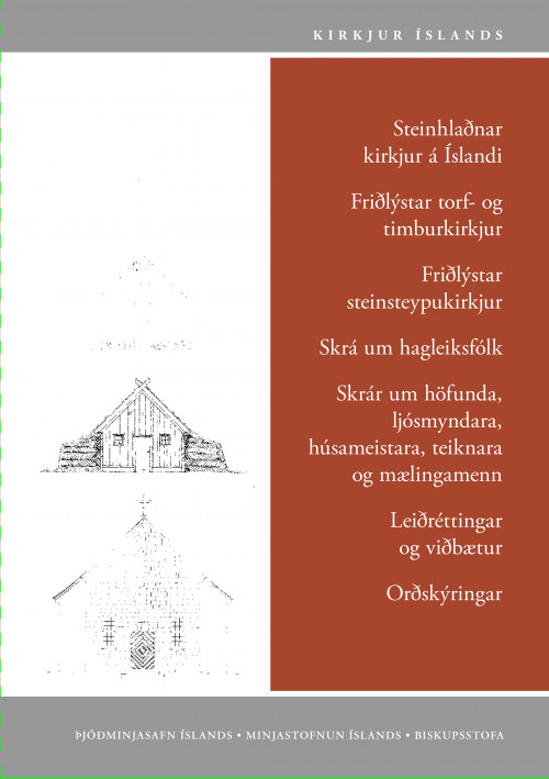 Kirkjur Íslands: 31. bindi - Yfirlitsgreinar og skrár