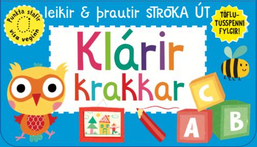 Klárir krakkar: leikir og þrautir