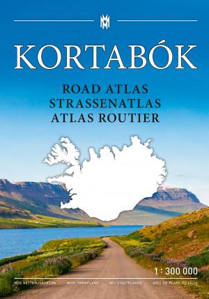 Kortabók / Road atlas / Straßenatlas / Atlas routier 2019-2020 – 1:300.000