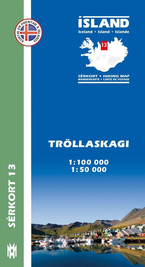 Tröllaskagi 1:100 000 - Sérkort 13