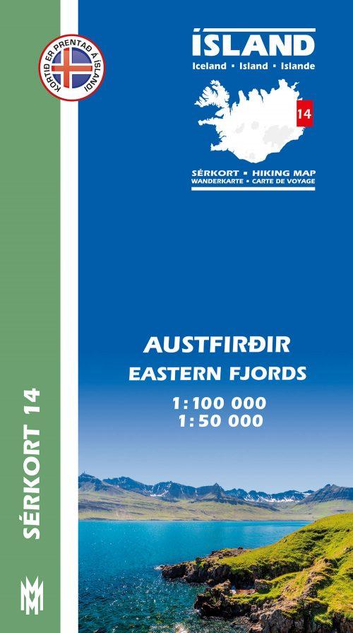Austfirðir 1:100 000