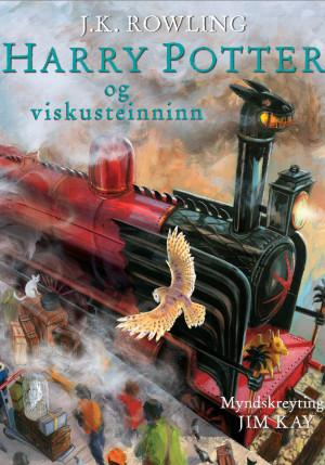 Harry Potter og viskusteinninn - myndskreytt