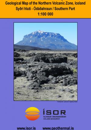 Jarðfræðikort af Norðurgosbelti: Syðri hluti - Ódáðahraun 1:100 000