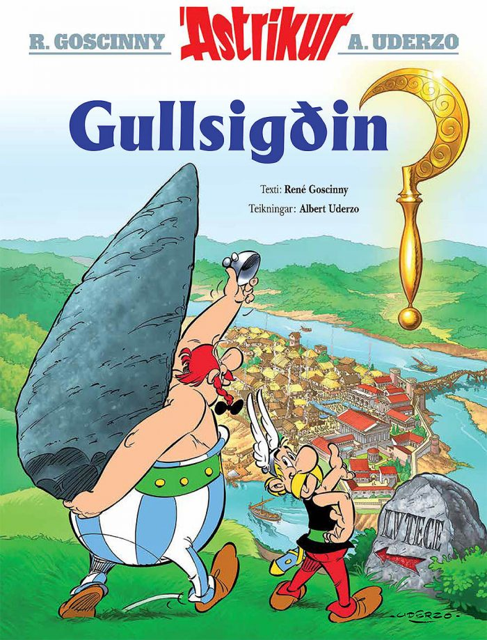 Ástríkur - Gullsigðin