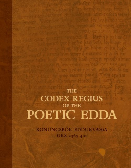 The Codex Regius of the Poetic Edda - Konungsbók Eddukvæða