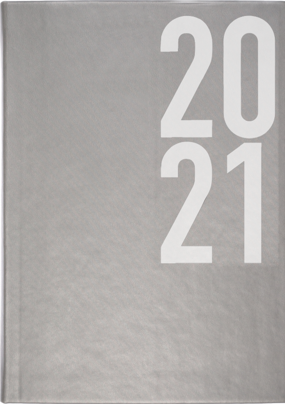 Munum dagbók 2021 - grá
