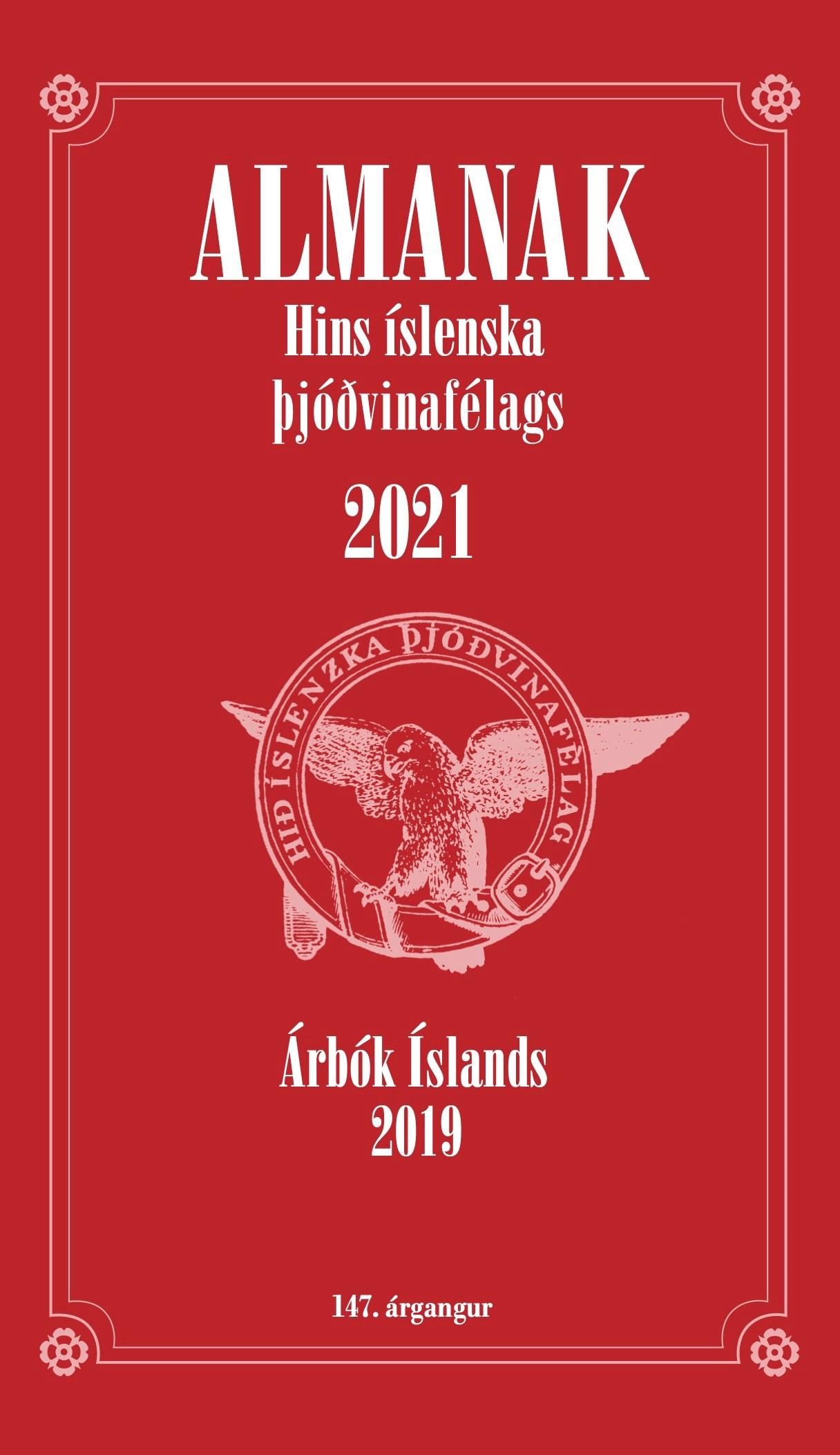 Almanak hins íslenska þjóðvinafélags 2021